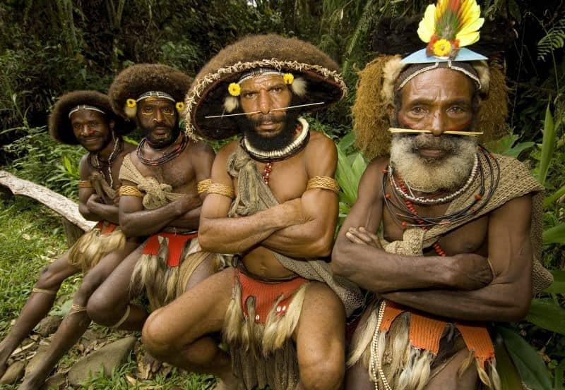 פפואה גינאה החדשה (צילום יונתן ניר)