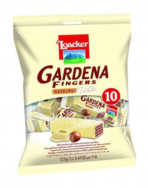"""לואקר אצבעות גרדנה שוקולד לבן (צילום יח""""צ חו""""ל)"""