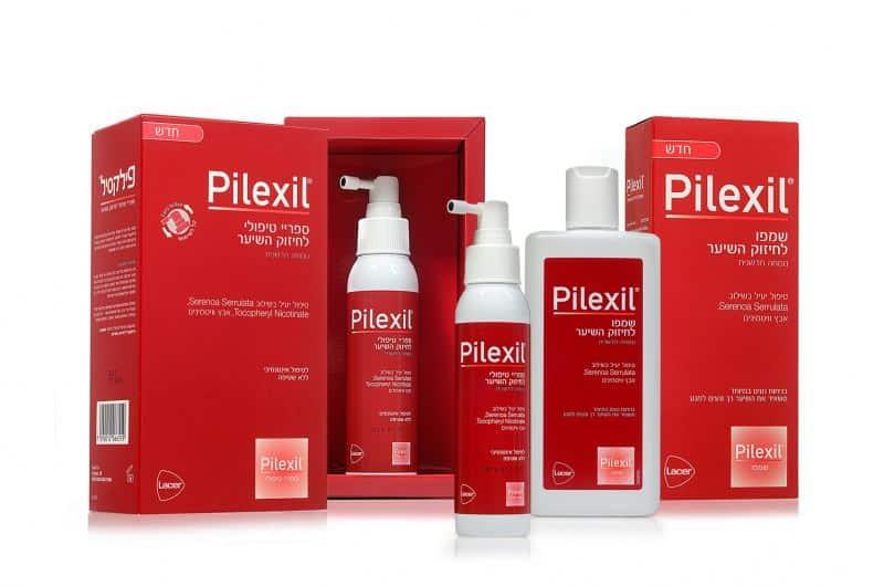 """מוצרי טיפוח פילקסיל Pilexil (צילום יח""""צ חו""""ל)"""