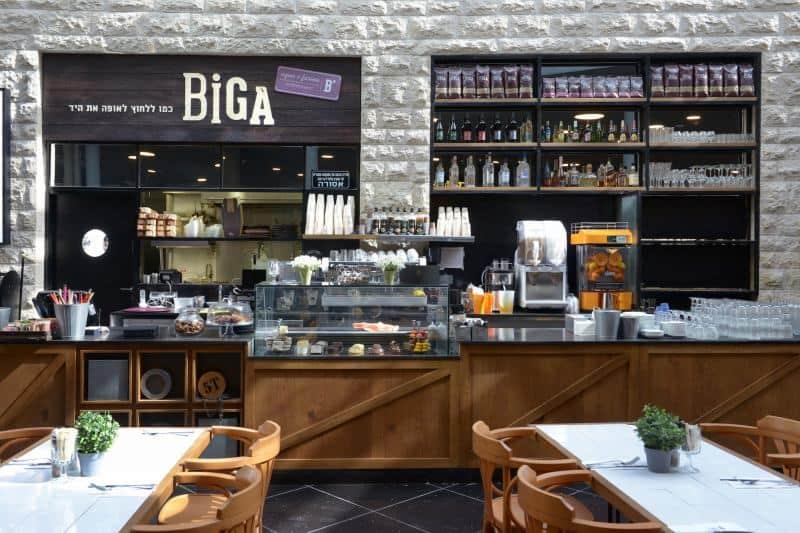 קפה ביגה (צילום אלעד גוטמן)