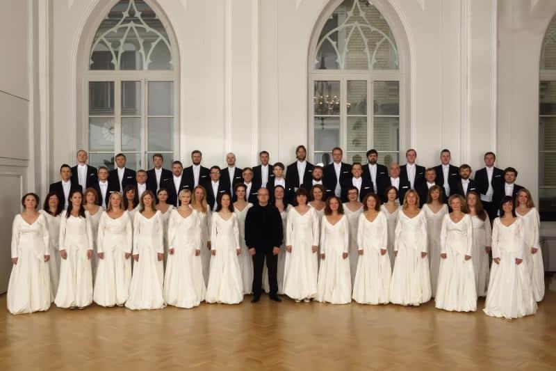 """המקהלה הלאומית של לטביה (צילום יח""""צ חו""""ל)"""