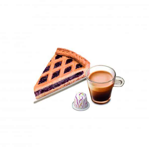 """פרוסת לינצנר-טורט עם קפה (צילום יח""""צ חו""""ל נספרסו)"""