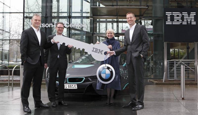"""BMW ו-IBM (צילום יח""""צ חו""""ל)"""