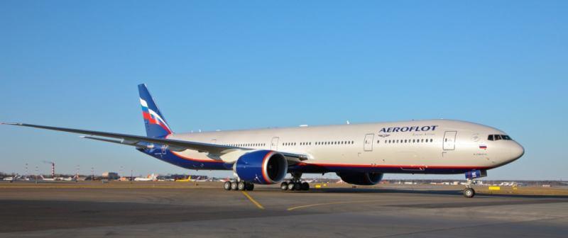 """בואינג 777 של אירופלוט (צילום יח""""צ חו""""ל)"""