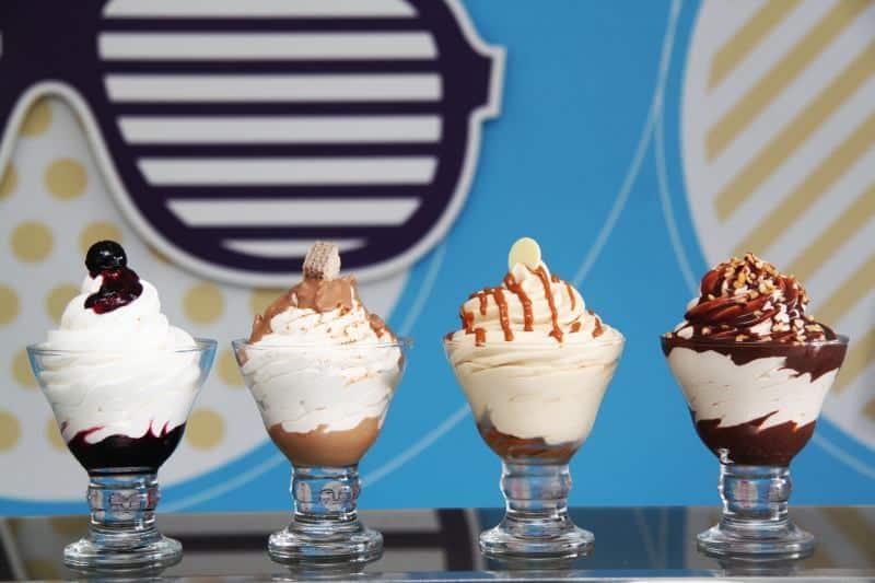 ה-גלידה עם סדרת סמפירדו (צילום אגמדיה)