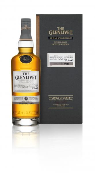 Glenlivet Single Cask Carn Ealasaid with box